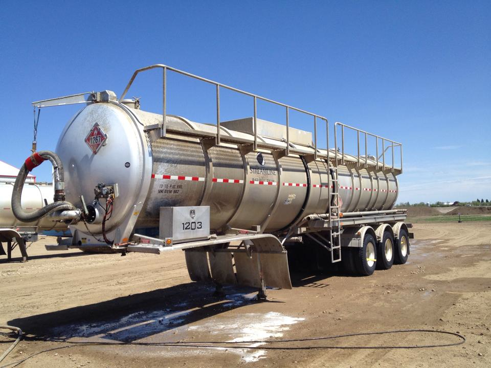 Drity Tanker-before pressure force pressure washes